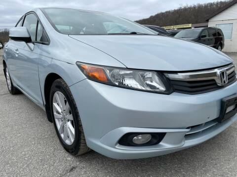 2012 Honda Civic for sale at Ron Motor Inc. in Wantage NJ