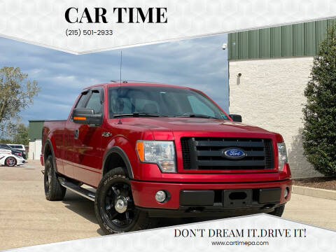 2010 Ford F-150 for sale at Car Time in Philadelphia PA
