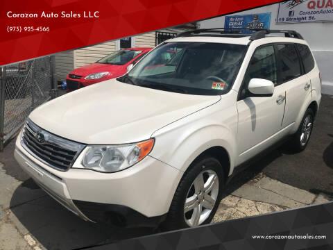 2009 Subaru Forester for sale at Corazon Auto Sales LLC in Paterson NJ