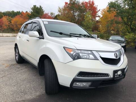 2011 Acura MDX for sale at Royal Crest Motors in Haverhill MA
