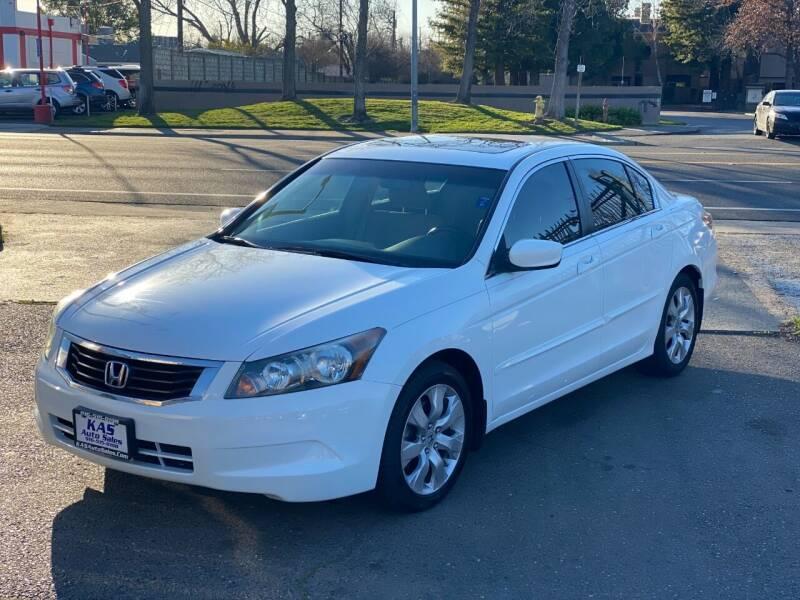 2008 Honda Accord for sale at KAS Auto Sales in Sacramento CA