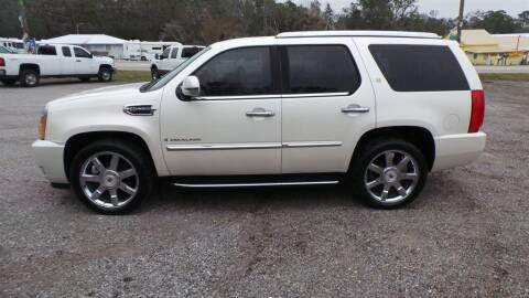 2009 Cadillac Escalade Hybrid for sale at action auto wholesale llc in Lillian AL