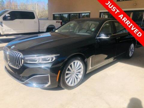 2020 BMW 7 Series for sale at Brandon Reeves Auto World in Monroe NC