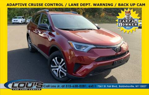 2018 Toyota RAV4 for sale at LOU'S CAR CARE CENTER in Baldwinsville NY