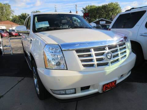 2007 Cadillac Escalade for sale at Fox River Motors, Inc in Green Bay WI