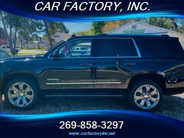 2015 GMC Yukon for sale at Car Factory Inc. in Three Rivers MI