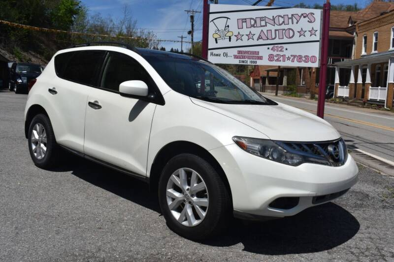 2011 Nissan Murano for sale at Frenchy's Auto LLC. in Pittsburgh PA