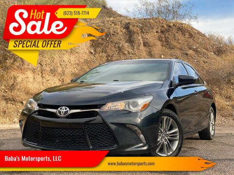 2016 Toyota Camry for sale at Baba's Motorsports, LLC in Phoenix AZ