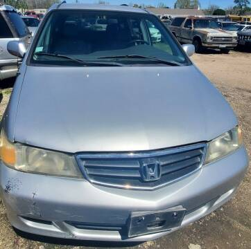 2002 Honda Odyssey for sale at Ody's Autos in Houston TX