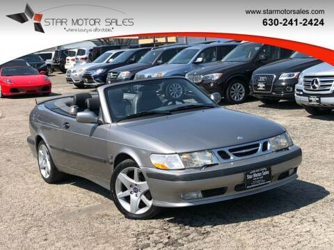 2002 Saab 9-3 for sale at Star Motor Sales in Downers Grove IL