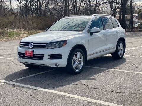 2013 Volkswagen Touareg for sale at Hillcrest Motors in Derry NH