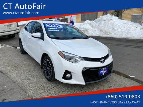 2014 Toyota Corolla for sale at CT AutoFair in West Hartford CT
