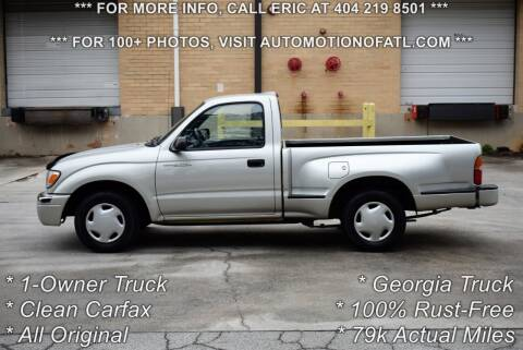 2000 Toyota Tacoma for sale at Automotion Of Atlanta in Conyers GA
