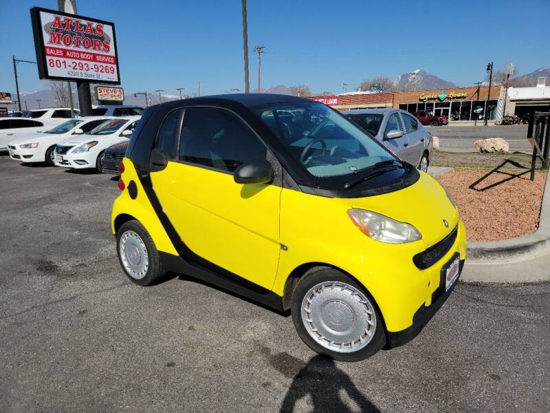 2008 Smart fortwo for sale at ATLAS MOTORS INC in Salt Lake City UT