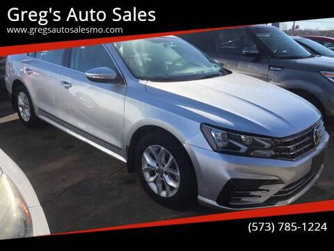 2017 Volkswagen Passat for sale at Greg's Auto Sales in Poplar Bluff MO