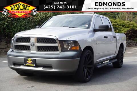 2010 Dodge Ram Pickup 1500 for sale at West Coast Auto Works in Edmonds WA