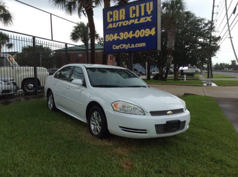 2012 Chevrolet Impala for sale at Car City Autoplex in Metairie LA