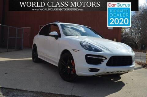2013 Porsche Cayenne for sale at World Class Motors LLC in Noblesville IN