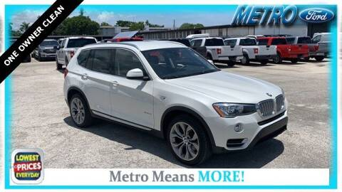 2017 BMW X3 for sale at Your First Vehicle in Miami FL