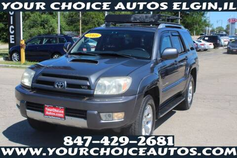 2005 Toyota 4Runner for sale at Your Choice Autos - Elgin in Elgin IL