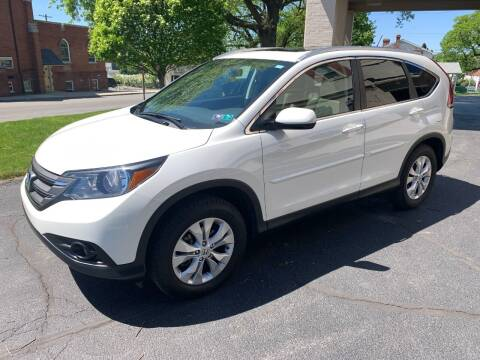 2013 Honda CR-V for sale at On The Circuit Cars & Trucks in York PA