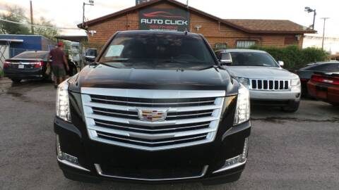 2015 Cadillac Escalade for sale at Auto Click in Tucson AZ