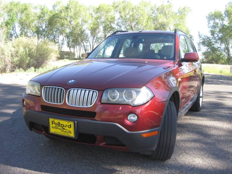 2009 BMW X3 for sale at Pollard Brothers Motors in Montrose CO