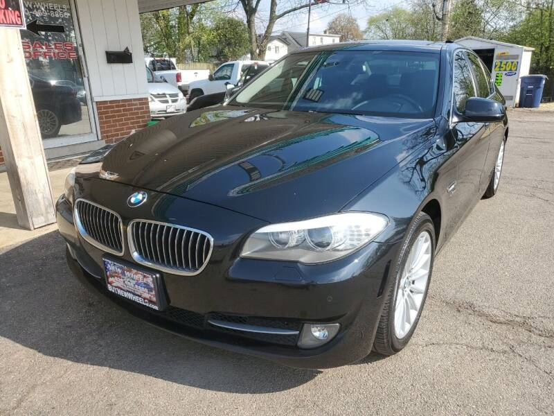 2012 BMW 5 Series for sale at New Wheels in Glendale Heights IL