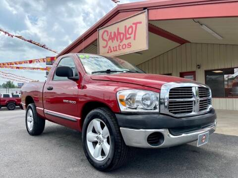 2007 Dodge Ram Pickup 1500 for sale at Sandlot Autos in Tyler TX
