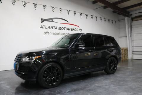 2015 Land Rover Range Rover for sale at Atlanta Motorsports in Roswell GA