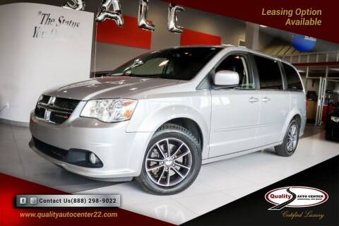 2017 Dodge Grand Caravan for sale at Quality Auto Center of Springfield in Springfield NJ