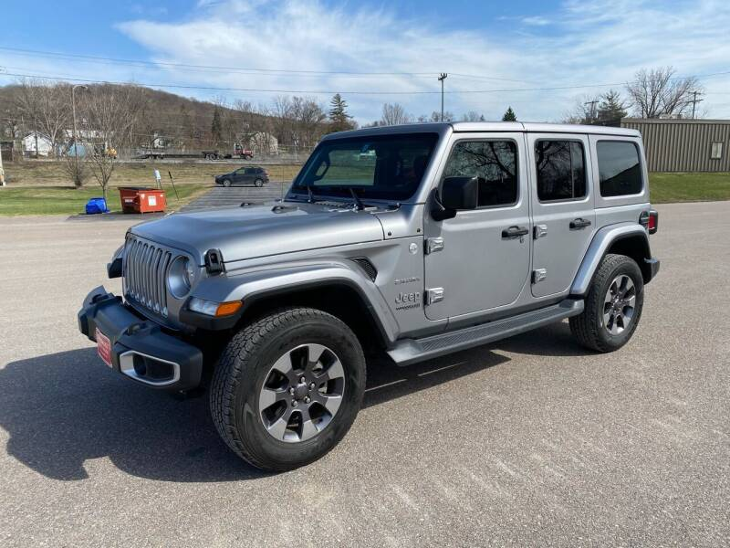 2018 Jeep Wrangler Unlimited for sale at Dussault Auto Sales in Saint Albans VT