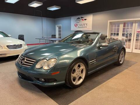 2005 Mercedes-Benz SL-Class for sale at Quality Autos in Marietta GA