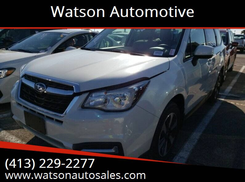 2018 Subaru Forester for sale at Watson Automotive in Sheffield MA