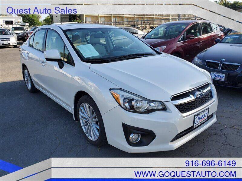2012 Subaru Impreza for sale in Sacramento, CA