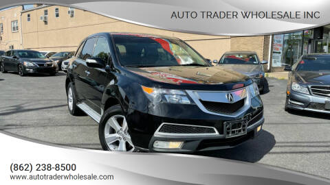 2011 Acura MDX for sale at Auto Trader Wholesale Inc in Saddle Brook NJ