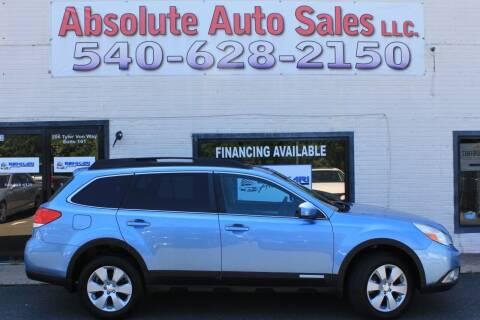 2012 Subaru Outback for sale at Absolute Auto Sales in Fredericksburg VA