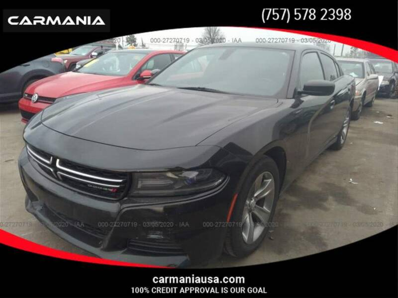 2015 Dodge Charger for sale at CARMANIA LLC in Chesapeake VA