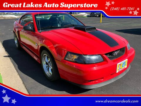 2004 Ford Mustang for sale at Great Lakes Auto Superstore in Pontiac MI
