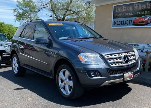 2011 Mercedes-Benz M-Class for sale at DEALZ ON WHEELZ in Winchester VA