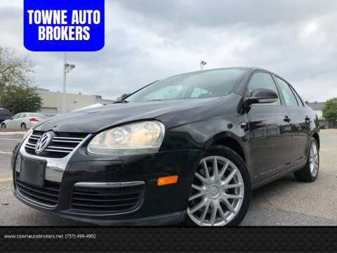 2009 Volkswagen Jetta for sale at TOWNE AUTO BROKERS in Virginia Beach VA