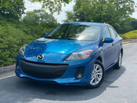 2012 Mazda MAZDA3 for sale at William D Auto Sales in Norcross GA