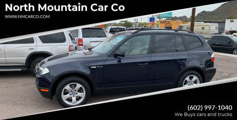 2008 BMW X3 for sale at North Mountain Car Co in Phoenix AZ