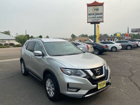 2017 Nissan Rogue for sale at TDI AUTO SALES in Boise ID