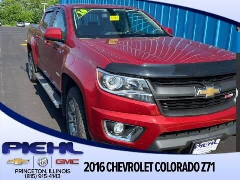 2016 Chevrolet Colorado for sale at Piehl Motors - PIEHL Chevrolet Buick Cadillac in Princeton IL