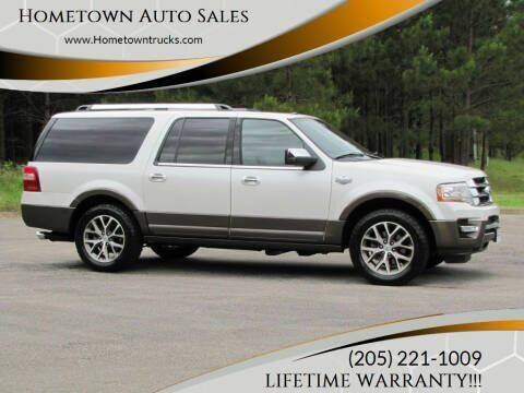 2016 Ford Expedition EL for sale at Hometown Auto Sales - SUVS in Jasper AL