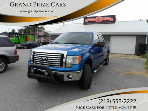 2011 Ford F-150 for sale at Grand Prize Cars in Cedar Lake IN