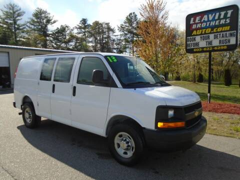 2013 Chevrolet Express Cargo for sale at Leavitt Brothers Auto in Hooksett NH