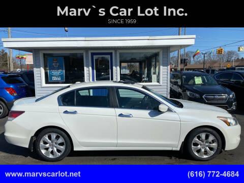 2010 Honda Accord for sale at Marv`s Car Lot Inc. in Zeeland MI