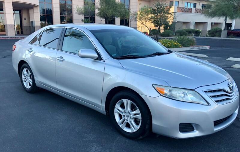 2010 Toyota Camry for sale at GEM Motorcars in Henderson NV